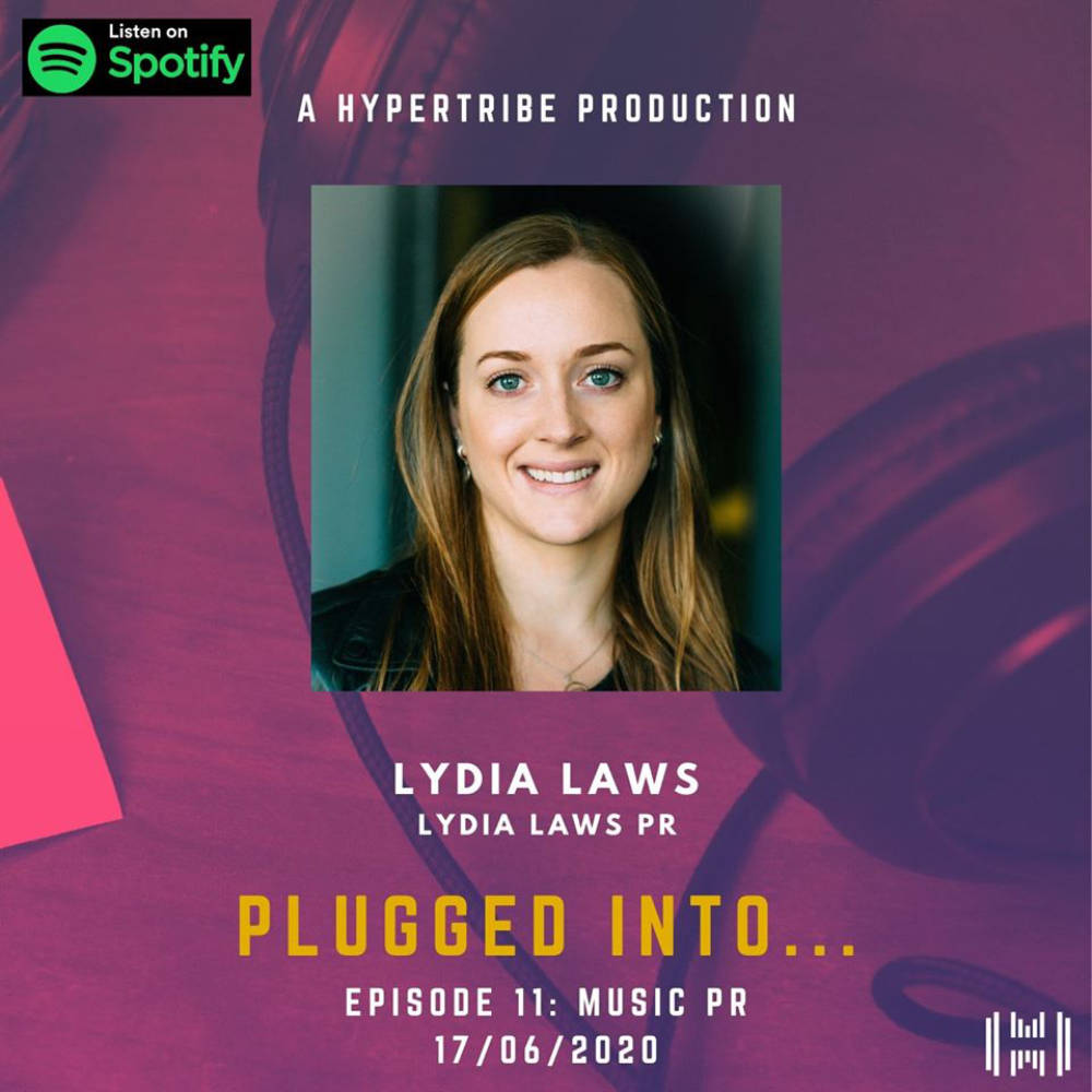 Lydia Laws HyperTribe Plugged Into Podcast